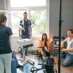 Fotoshooting in Praxis Dr. Sandner Kronberg